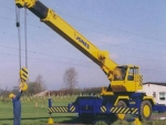 JONES 18RT rough terrain crane